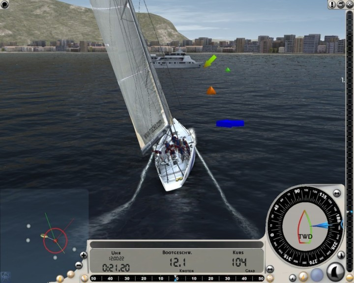 Screenshot 1 - Virtual Skipper Online