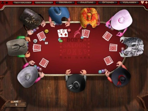 Poker im Wilden Westen © Intenium
