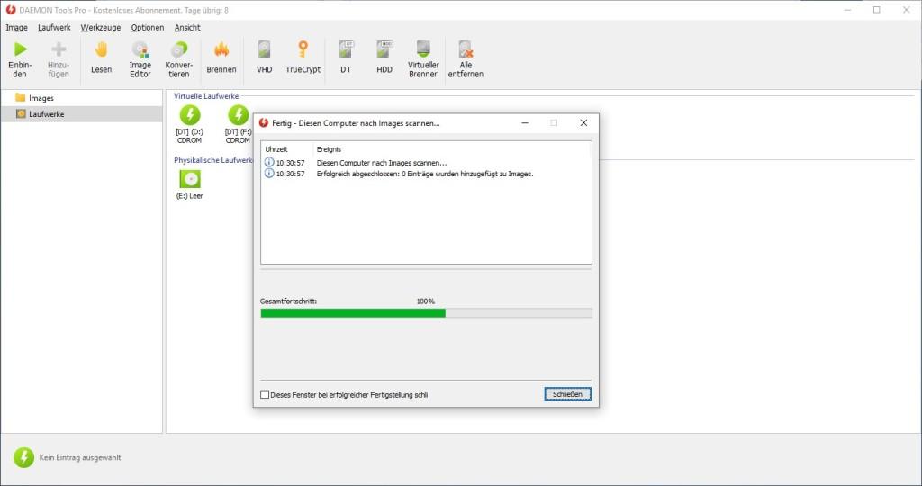 Screenshot 1 - Daemon Tools Pro