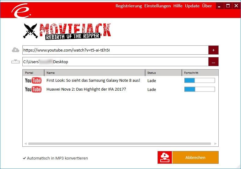 Screenshot 1 - MovieJack – Kostenlose Vollversion