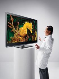 Die Quattron Technologie ist das Highlight der neuen AQUOS-Serie.©Sharp