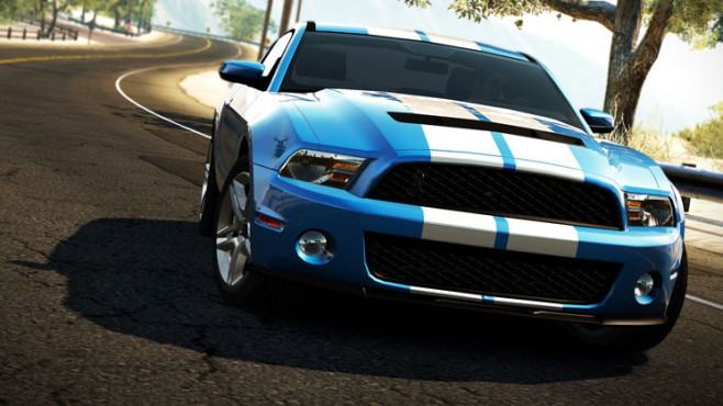 Rennspiel Need for Speed – Hot Pursuit: Ford GT 500 ©Electronic Arts