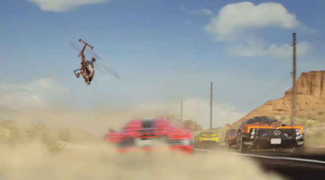 Rennspiel Need for Speed – Hot Pursuit: Helikopter ©Electronic Arts