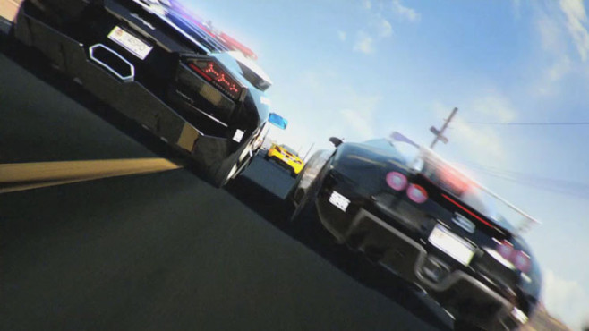 Rennspiel Need for Speed – Hot Pursuit: Straße ©Electronic Arts