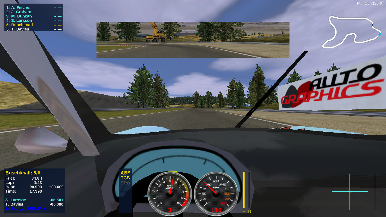 Screenshot 1 - Speed Dreams