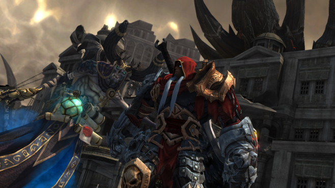 Actionspiel Darksiders – Wrath of War: Krieg © THQ