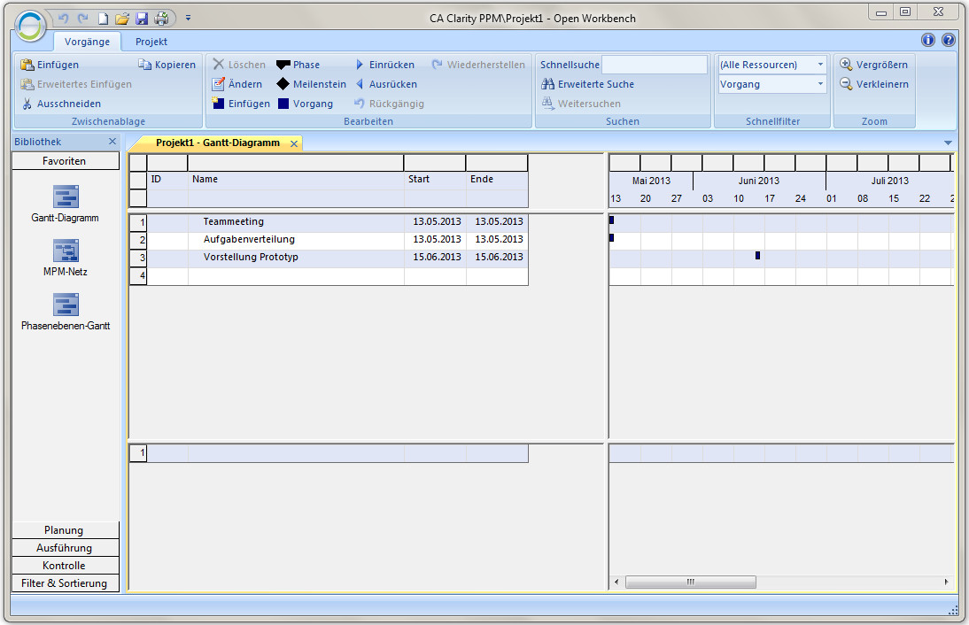 Screenshot 1 - Open Workbench
