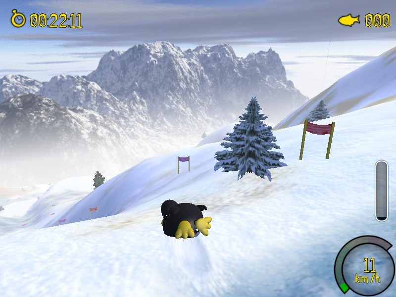 Screenshot 1 - Extreme Tux Racer