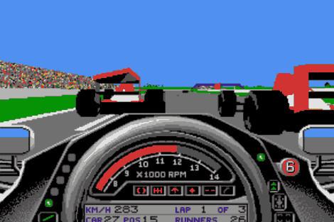 Formula One Grand Prix ©Microprose