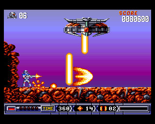 Turrican 2 – The Final Fight ©Rainbow Arts Software GmbH
