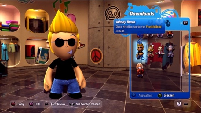 Rennspiel Modnation Racers: Johnny Bravo © Sony