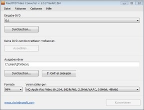Any Video Converter Free (Mac) 7 2 0 - Download - COMPUTER BILD