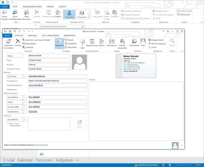 ms outlook 2013