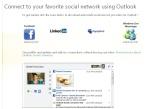 Outlook Social Connector©Microsoft