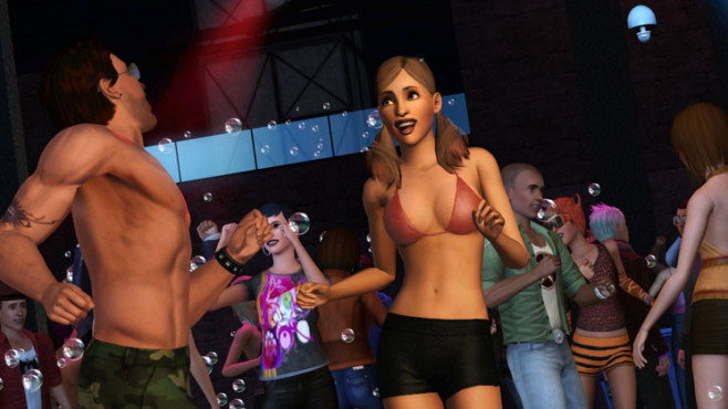 Simulation Die Sims 3 – Late Night: Party ©Electronic Arts