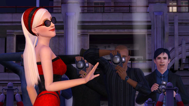 Simulation Die Sims 3 – Late Night: Promi ©Electronic Arts