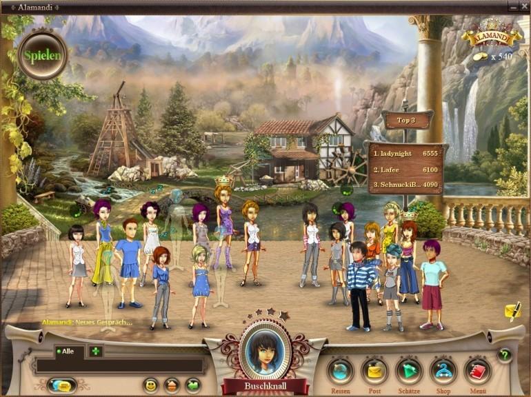 Screenshot 1 - Alamandi