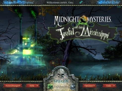 Midnight Mysteries – Teufel auf dem Mississippi Sammleredition ©Intenium