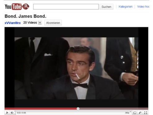 James Bond – 007 jagt Dr. No – Bond, James Bond ©YouTube
