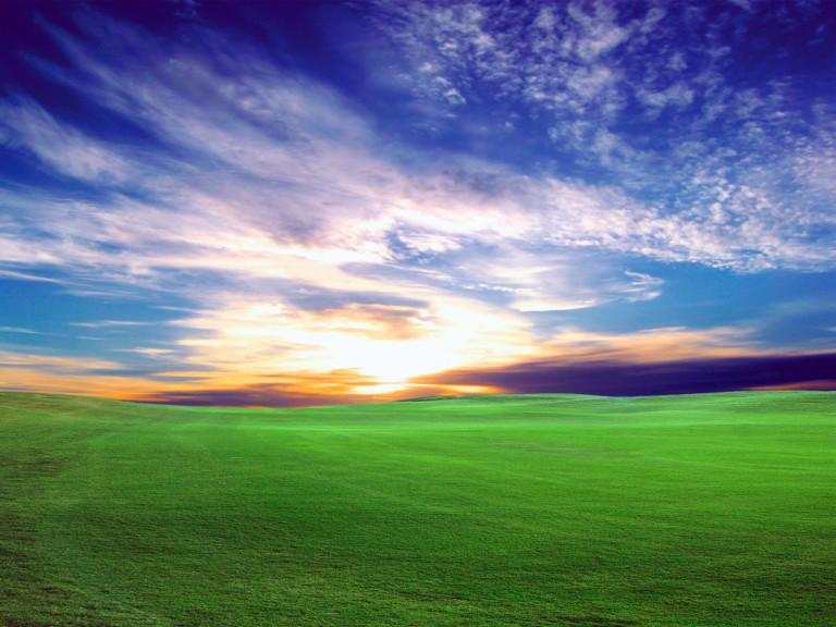Screenshot 1 - Sunset Bliss II Desktop Wallpaper