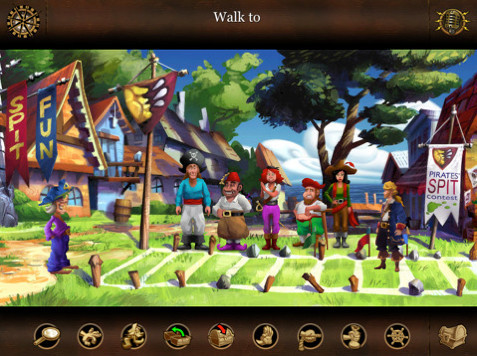 Monkey Island 2 – LeChuck`s Revenge Special Edition ©Lucasarts