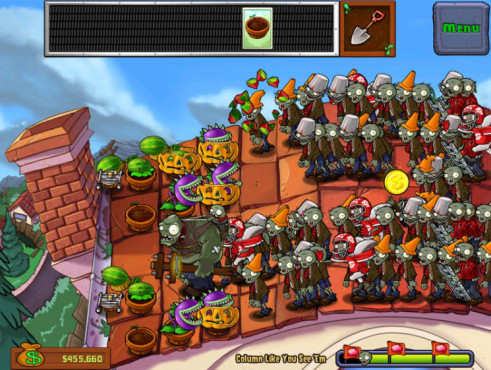 Plants vs. Zombies © PopCap