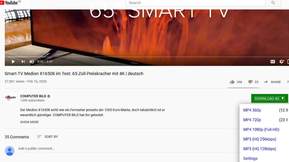 Alles zu YouTube: Die nützlichste Software und die besten Kurzfilme Im YouTube Center ändern Sie viele Verhaltensweisen, die ansonsten nicht anpassbar sind.