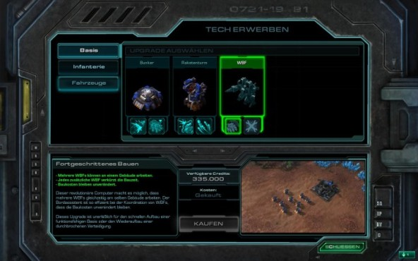 Starcraft 2 – Wings of Liberty: Arsenal © Blizzard
