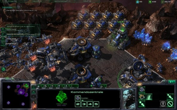 Starcraft 2 – Wings of Liberty: Basis © Blizzard