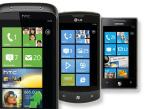 Windows Phone 7©HTC, LG, Samsung