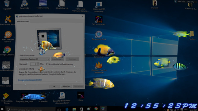 Aquarium Desktop 3D ©COMPUTER BILD