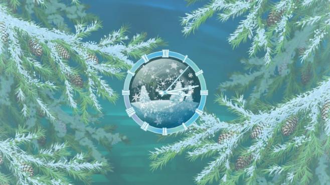 Furry Christmas Clock Screensaver ©COMPUTER BILD