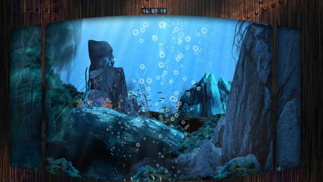 Platz 62: Unterwasserflug Screensaver ©COMPUTER BILD