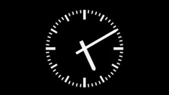 Platz 8: Analog DIN Clock Bildschirmschoner ©COMPUTER BILD