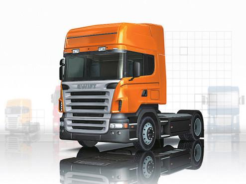 Euro Truck Simulator: Zugmaschine ©Rondomedia