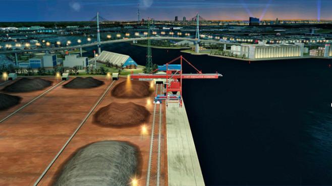 Hafen-Simulator – Hamburg ©UIG