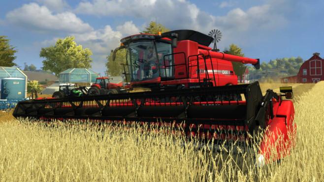 Landwirtschafts-Simulator: Titanium-Edition – Mähdrescher ©Astragon