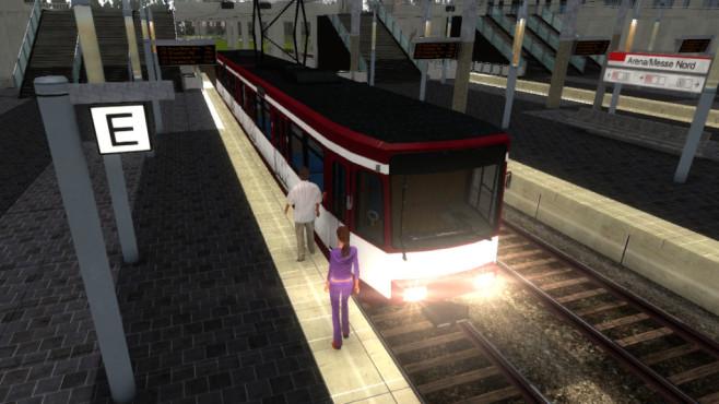 Stadtbahn-Simulator Düsseldorf ©Rondomedia