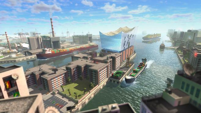 TransOcean – The Shipping Company: Elbphilharmonie ©Astragon