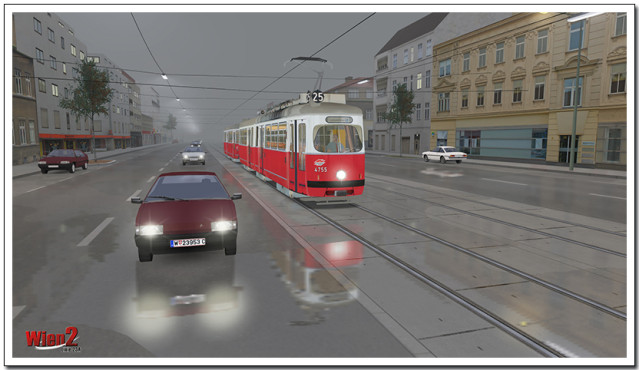 Wiener Bus bauen ©Aerosoft