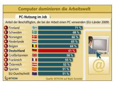PC-Nutzung im europäischen Vergleich©Bitkom