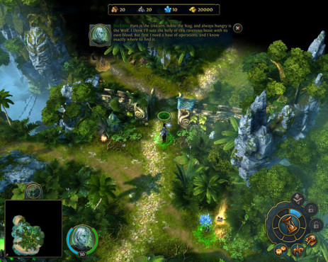 Strategiespiel Heroes of Might and Magic 6: Wald ©Ubisoft