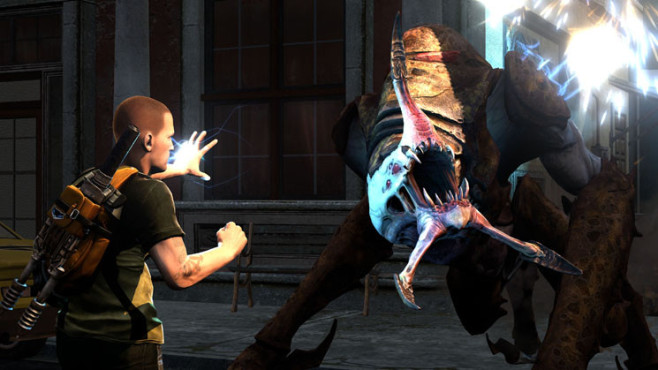 Actionspiel Infamous 2: Kampf © Sony