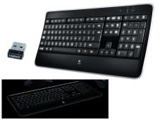 Logitech Wireless Illuminated Keyboard K800©Logitech