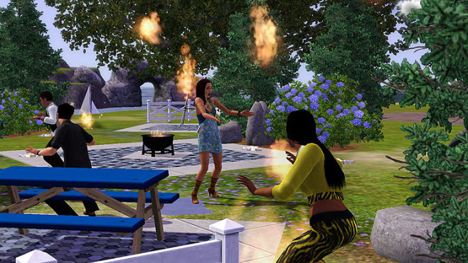 Simulation Die Sims 3 – Konsole: Grillparty © Electronic Arts