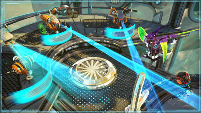 Geschicklichkeitsspiel Ratchet and Clank – All 4 One: Dr. Nefarious © Sony