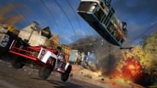 Rennspiel Motorstorm – Apocalypse: Fliegender Bus©Sony