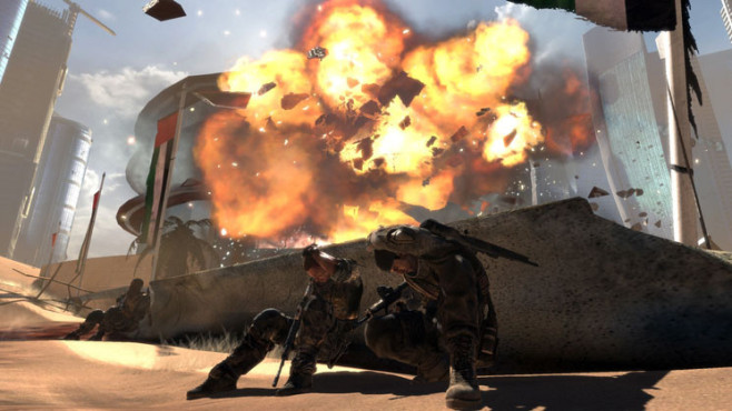 Actionspiel Spec Ops – The Line: Deckung ©Take-Two