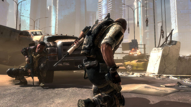 Actionspiel Spec Ops – The Line: Dodge ©Take-Two