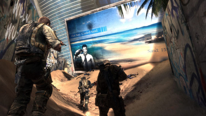Actionspiel Spec Ops – The Line: Sand ©Take-Two